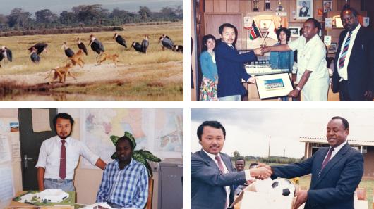 アフリカで見た夢、それが小川工務店の原点です。