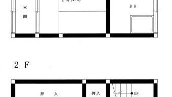 賃貸アパート 松瀬町 2DK 3.5万円のサムネイル
