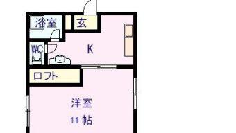 賃貸アパート 大野町 2K 4.5万円のサムネイル