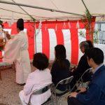 泉町にて地鎮祭を行いましたのサムネイル