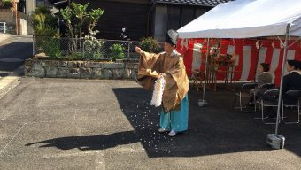 Na様邸 地鎮祭を行いま…のサムネイル