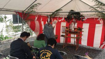 Te様邸 地鎮祭を行いましたのサムネイル