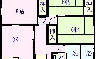 賃貸アパート 吉岡町 3.5万円のサムネイル