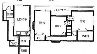 大野町 貸家 6.5万